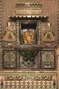 Petit Ganesh porte bonheur - City Palace - Udaipur - Rajasthan - Inde