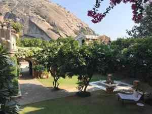Jardin de notre hôtel - Narlai - Rajasthan - Inde