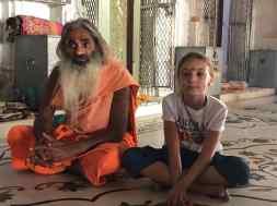 """Eden et le """"Holy Man"""" - Narlai - Rajasthan - Inde"""