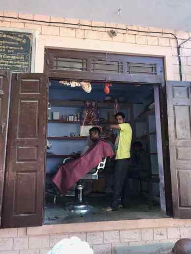 Barbier - Narlai - Rajasthan - Inde