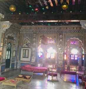 Chambre de Maharaja - Fort de Jodhpur - Rajasthan - Inde