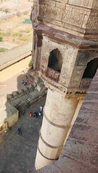 Tourelle du Fort de Jodhpur - Rajasthan - Inde