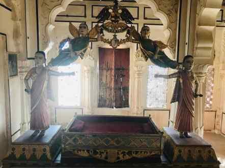 Berceau de futur Maharaja, XIXeme siècle - Jodhpur - Rajasthan - Inde