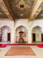 Salle du conseil - Fort de Jodhpur - Rajasthan - Inde