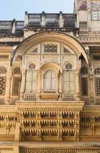 Détail d'une fenêtre -Fort de Jodhpur - Rajasthan - Inde