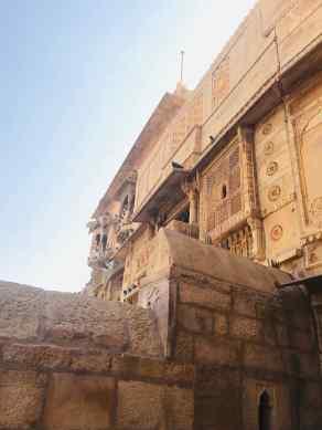 Façades du fort- Jaisalmer - Rajasthan - Inde