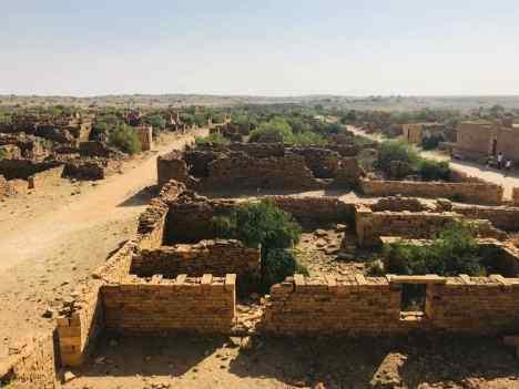 Village fantôme - Désert du Thar - Rajasthan - Inde