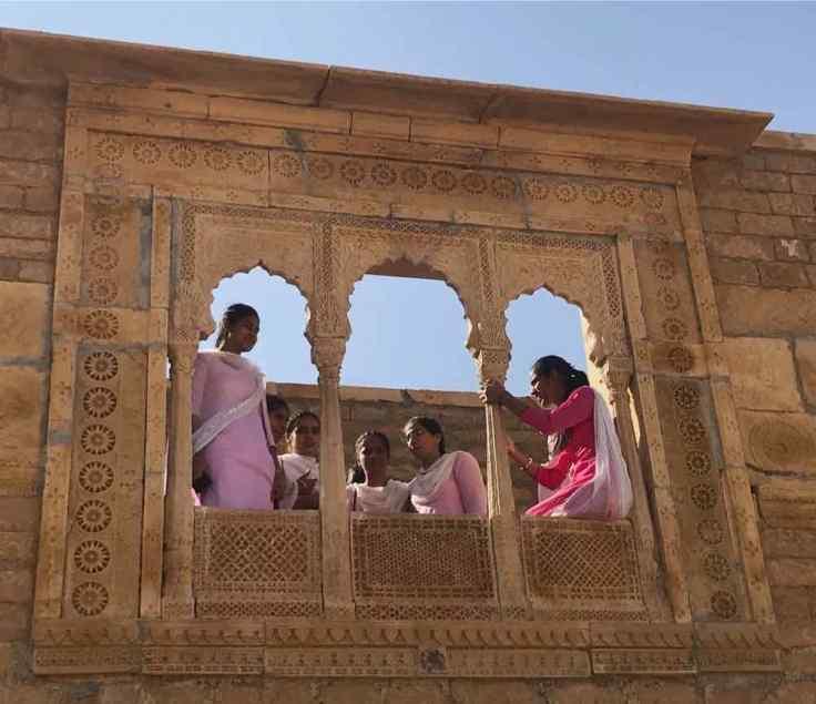 Rencontre dans la ville fantôme - Désert du Thar - Rajasthan - Inde