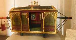 Chaise à porteur pour femme -Fort de Jodhpur - Rajasthan - Inde