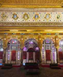 Salon de Maharaja - Fort de Jodhpur - Rajasthan - Inde