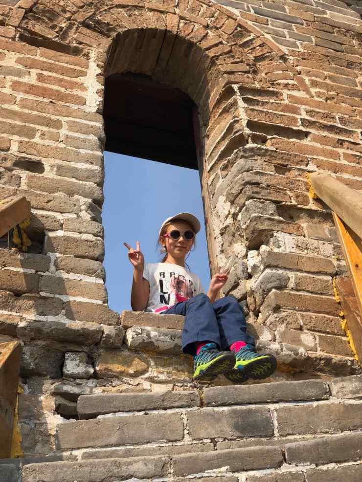 En haut d'une tourelle -Grande muraille - Jinshanling - Chine