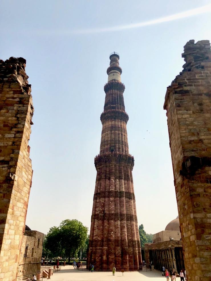 Le Qutb Minar, gigantesque - Delhi - Inde