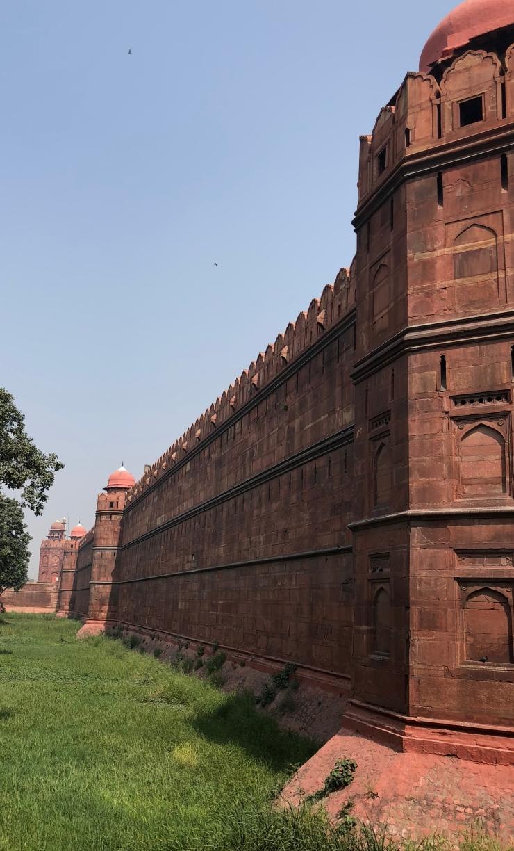 Remparts du Fort Rouge - Delhi - Inde