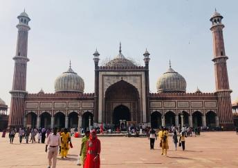 Jama Masjid, Grande Mosquée de Delhi - Inde