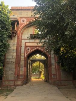 Porte d'entée - Humayun Tomb - Delhi - Inde