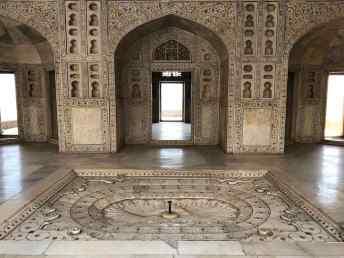 Pièces du Fort Rouge - Agra - Inde