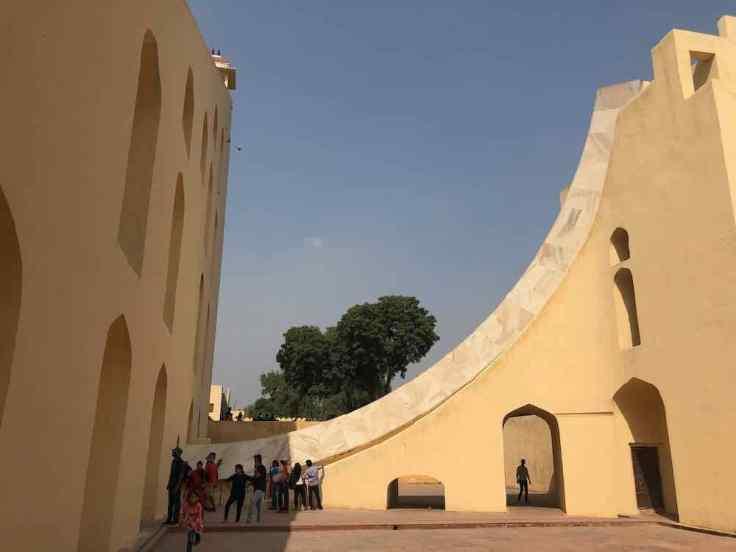Cadran solaire - Jantar Mantar - Jaipur - Rajasthan