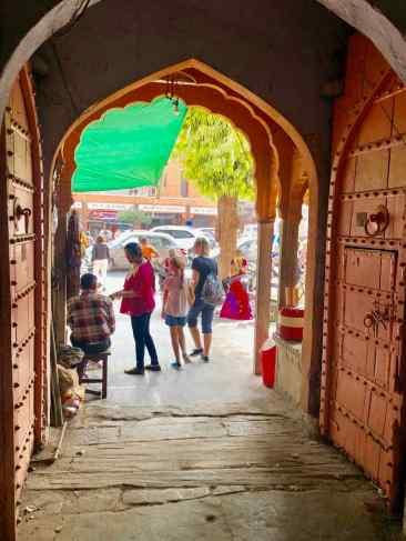 Au détour du marché - Jaipur - Rajasthan