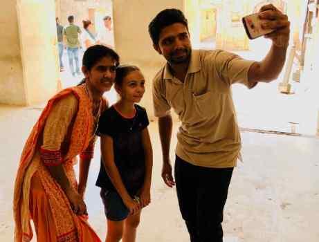 Encore un petit Selfie s'il vous plait - Amber Palace - Rajasthan - Inde