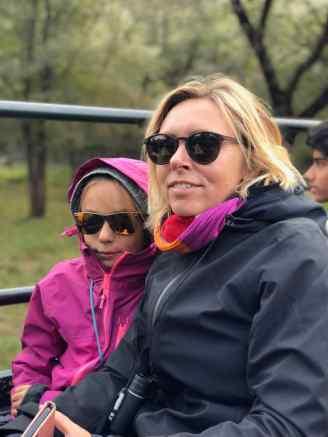 On part voir le tigre - Il fait froid ! - Ranthambore - Rajasthan - Inde