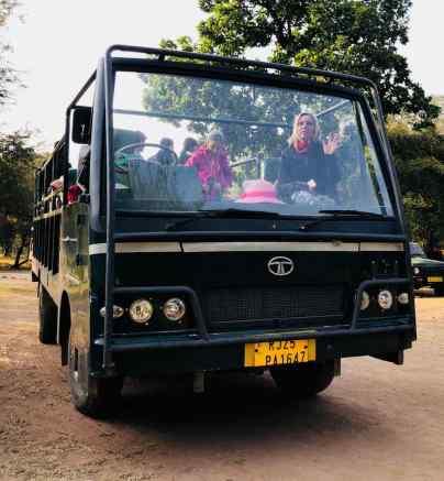 Notre Bus- Safari - Ranthambore - Rajasthan - Inde