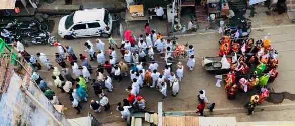 Procession - Bundi - Rajasthan - Inde
