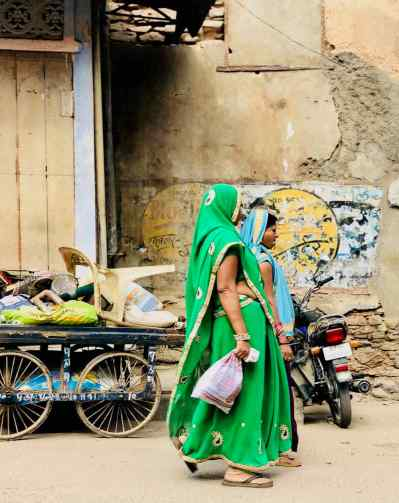 Jolis Saris - Bundi - Rajasthan - Inde