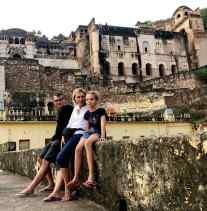 Devant le Palais de Bundi - Rajasthan - Inde