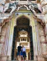 La porte monumentale du Palais de Bundi - Rajasthan - Inde
