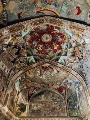 Pièce entièrement peinte - Palais de Bundi - Rajasthan - Inde