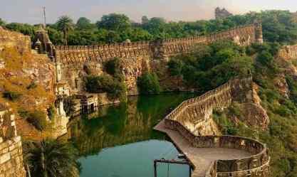 Réservoir à eau, Chittorgarh - Rajasthan - Inde