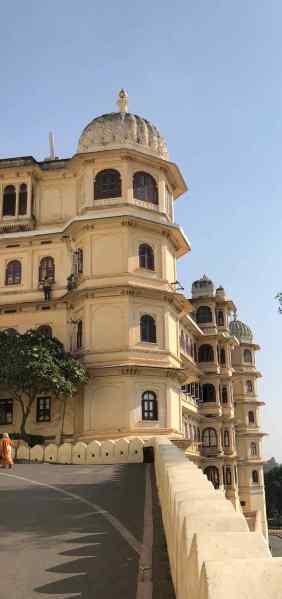 Grimpette vers le City Palace - Udaipur - Rajasthan - Inde