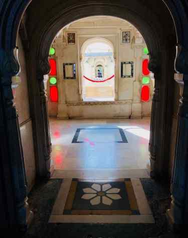 Jeux de lumières dans le City Palace - Udaipur - Rajasthan - Inde
