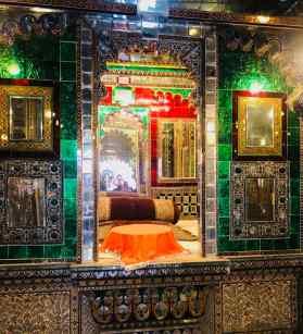 Salon de Maharaja - City Palace - Udaipur - Rajasthan - Inde