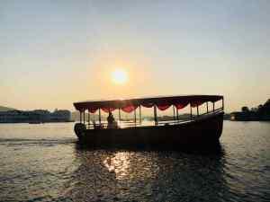 Balade en bateau sur le Lac Pichola - Udaipur - Rajasthan - Inde