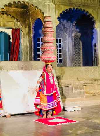 Spectacle de danse traditionnelle - Udaipur - Rajasthan - Inde