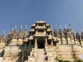 Entrée du temple de Ranakpur - Rajasthan - Inde