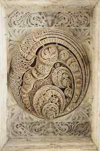 Plafond sculpté - Ranakpur - Rajasthan - Inde