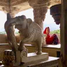 Sculpture - Ranakpur - Rajasthan - Inde