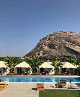 Piscine de l'hôtel - Narlai - Rajasthan - Inde