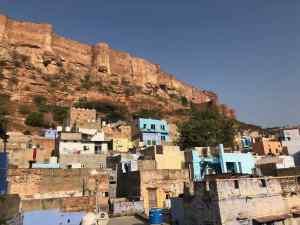 Vue sur le fort depuis notre guesthouse - Jodhpur - Rajasthan - Inde