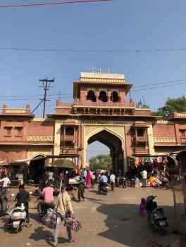 Entrée du fort de Jaisalmer -Rajasthan - Inde