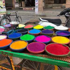 Vendeur de Pigments - Jodhpur - Rajasthan - Inde