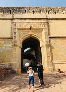 Porte d'entrée du fort de Jodhpur - Rajasthan - Inde