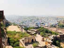Vue sur la ville depuis le fort - Jodhpur - Rajasthan - Inde