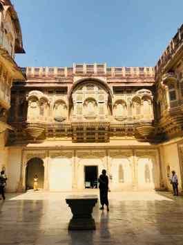 Cour Intérieure du Palais - Jodhpur - Rajasthan - Inde
