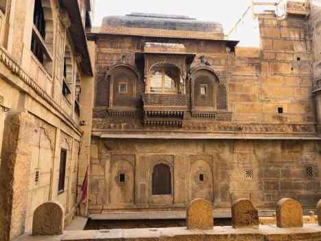Cour intérieure - Fort de Jaisalmer - Rajasthan - Inde
