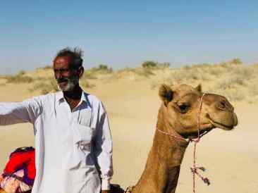Abhay, homme du désert - Désert du Thar - Rajasthan - Inde