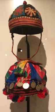 Chapeau de bébé - Musée des femmes - Hanoï - Vietnam