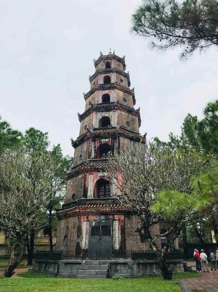 Pagode de la Dame Céleste - Hue - Vietnam